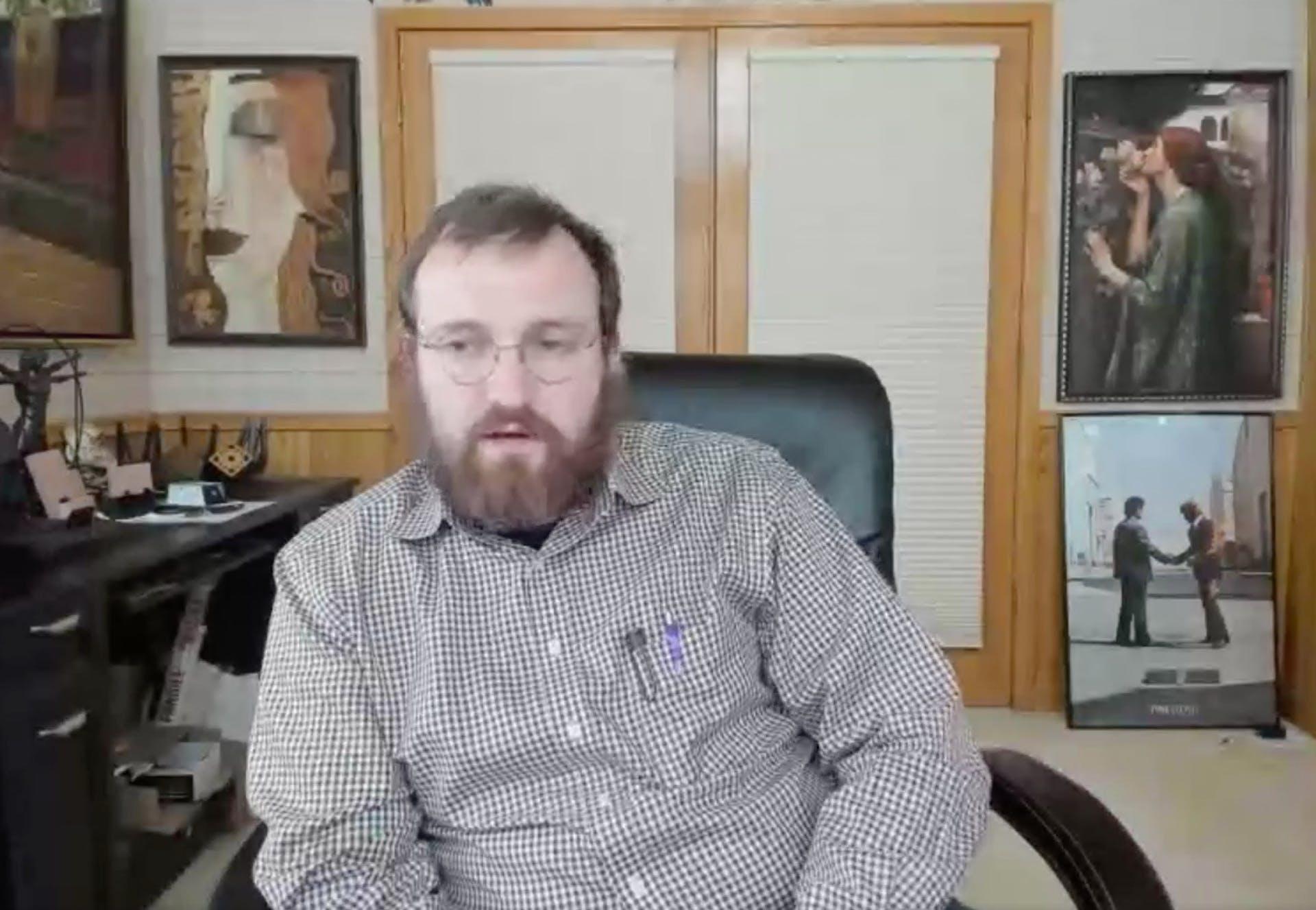 Cardano founder Charles Hoskingson
