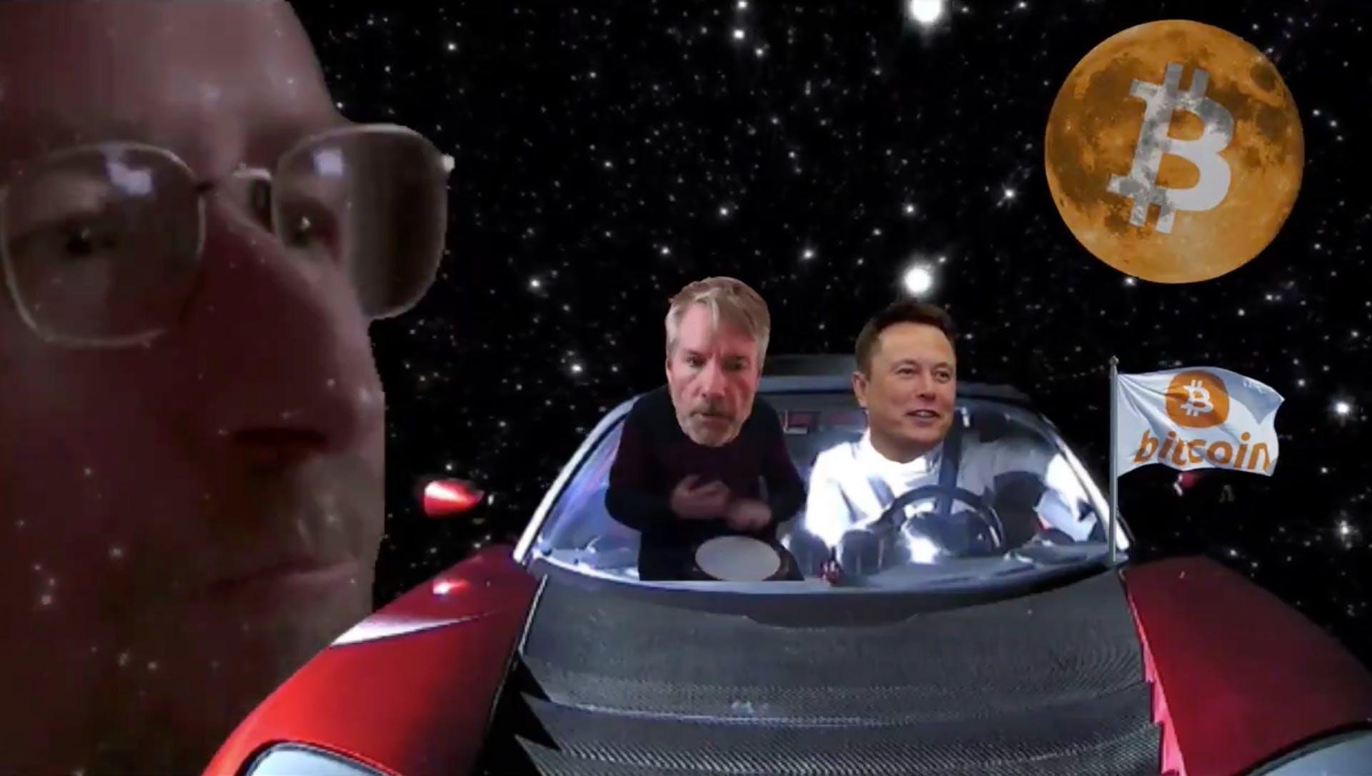 Elon & Saylor